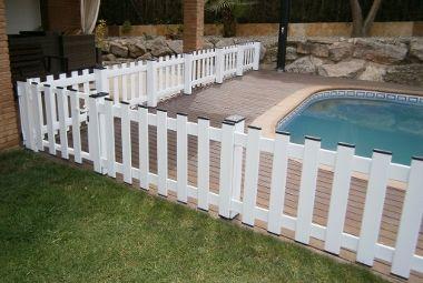 Vallas de aluminio tancaments catalunya - Vallas de madera para piscinas ...